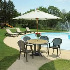 Patio Table With Umbrella Outdoor Furniture Hd Supply