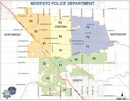 Gang Map Usa by Police Department Modesto Ca
