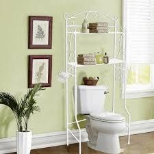 bathroom storage over toilet wicker towel basket aluminium high