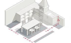 dimensions cuisine aménager sa cuisine d été