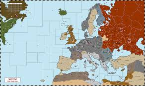 Map Of Europe 1939 by Nwo Vichy