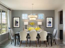 Contemporary Dining Rooms by Contemporary Dining Room With Pendant Light U0026 High Ceiling
