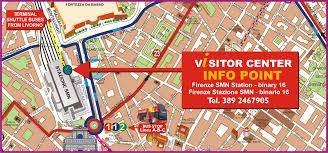 Hop On Hop Off Map New York by Hop On Hop Off Tour Florence Florence Tours Book Online