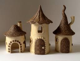 ceramic house warm white and 32 00 via etsy