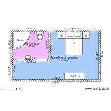 plan chambre d hotel chambre d hotel plan 2 pièces 30 m2 dessiné par aymen0482