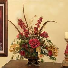 artificial flower arrangements silk flowers burgundy and moss centerpiece ar278 burgundy and