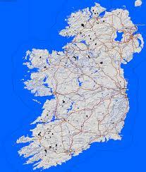 Dublin Ireland Map Country Maps Ireland