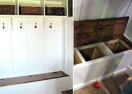 Entryway Storage Bench Canada by Add Seating And Storage To An Entryway Or Mudroom With The