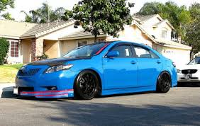 modified toyota camry toyota camry modification 2016 blue color toyota suv 2018