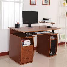 big computer desk printer table makeovers computer desk with shelf s designlet