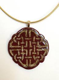 How To Make Inlay Jewelry - gold inlay polymer clay pendant allfreejewelrymaking com