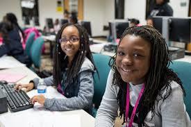 black girls code imagine build create black girls code
