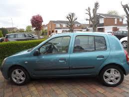 renault megane 2004 blue 2004 renault clio expression 1 2 16v man 66 000mls 4 door petrol