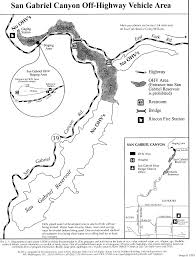 Glendora Wildfire Map by Angeles National Forest Maps U0026 Publications