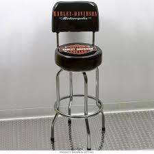 Bar Stool With Backrest Harley Davidson Bar Shield Bar Stool With Backrest Room