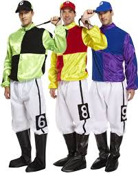 horse jockey halloween costume k389 jockey horse rider mens uniform fancy dress up sports