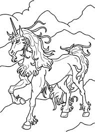 unicorn magical horse coloring pages icolor