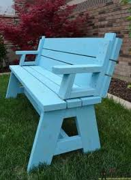 convertible picnic table and bench picnic tables picnics and bench
