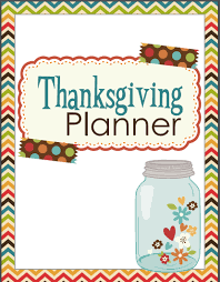 thanksgiving planner for busy
