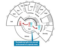 Split Master Bedroom St Ann U0027s Court U0027s Secret Bedroom Allowed Christopher Tunnard To