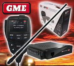 gme xrs connect xrs 370c compact uhf cb radio gme ae4705b black