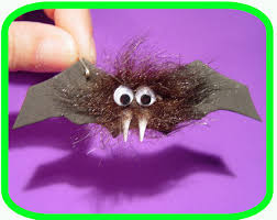 halloween hairy bat
