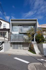 house in midorigaoka a triple tiered nine by twenty two meters