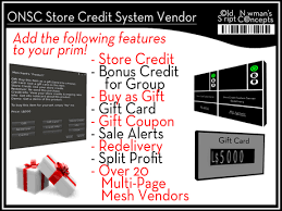 gift card vendors second marketplace onsc store credit rewards gift card