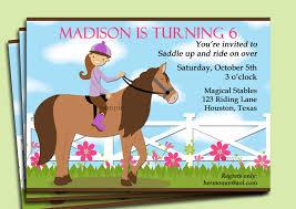 free printable farm birthday invitations horse riding invitation printable or printed with free