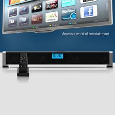 world best home theater salute 80w 24 inch best rated tv soundbar bluetooth streaming
