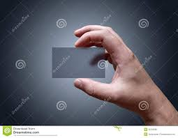 transparent business card royalty free stock photo image 32766095