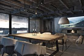 rustic dining room lighting industrial style home design with arts and crafts dining room