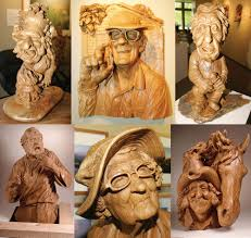 collection of magnificent woodworks wood sculptures by fred cogelow