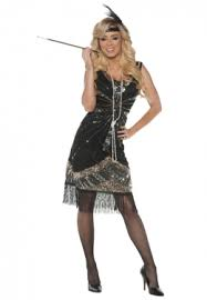 Gangster Costumes Halloween Flappers U0026 Gangsters Flapper Gangster Costumes Women