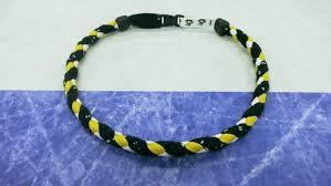 lace necklace images Nhl pittsburgh penguins braided hockey lace necklace JPG