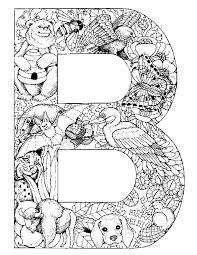 lettre b animal animaux colouring pinterest animaux pour