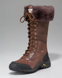 ugg adirondack sale canada ugg adirondack leather boot in brown lyst