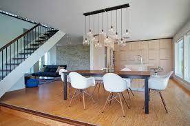 Table Kitchen Island - dining lights above dining table dining room contemporary with