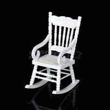 Unfinished Wood Rocking Chair Miniature Wooden Rocking Chair Fpudining