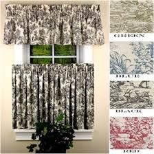 Toile Cafe Curtains 44 Best To Toile Images On Canvases Sheet Curtains