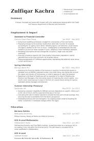 Spanish Resume Samples by Financial Controller Resume Samples Visualcv Resume Samples Database