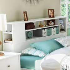 modern headboards uncategorized awesome headboard with shelves best images about