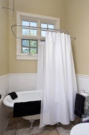 Clawfoot Tub Shower Curtain Rod You Can Make Yourself Clawfoot Tub Shower Curtain