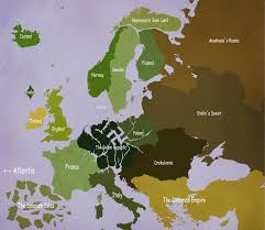 Post Ww2 Map Alternate History Europe Post Occult Ww2 By Slapsticky On Deviantart