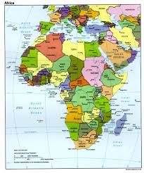Africa Map Rivers Maps Of Africa Africa Maps U0026 Atlases Mega Net
