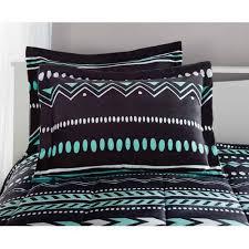 Tribal Pattern Comforter Your Zone Tribal Bedding Comforter Set Walmart Com