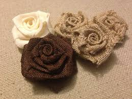 burlap flowers how to make burlap flowers or rosettes burlap roses glue guns