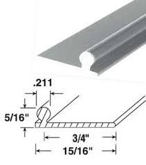 Patio Door Repairs Wgsonline 95 Satin Aluminum Sliding Glass Patio Door Repair Track