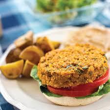 quinoa and red lentil burgers recipe epicurious com