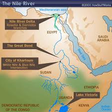 Africa Map Rivers Nile River Map Maps Pinterest Nile River And Geography